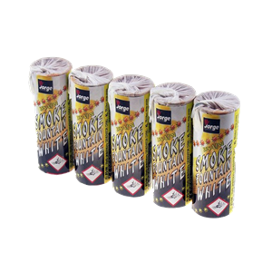 JFS 1 White Smoke Fountain (Pack Of 5) Witte Rook Jorge Fireworks