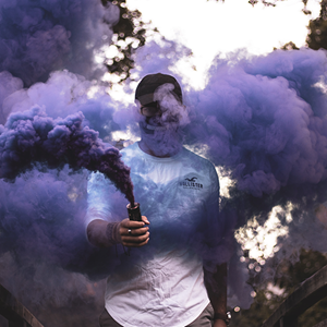 80042 SG 60 Purple Smoke Grenade Wire Pull Vulcan Single (Unsplash Picture)