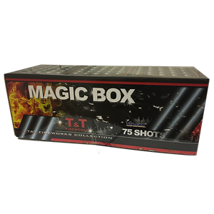 1009TT Magic Box Magic Box T&T Fireworks Mixed Emotions Vuurwerkbatterijen Cakes Vuurwerkassortiment T&T Fireworks Vulcan Europe