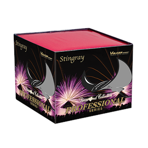DC208 Stingray Stingray Vulcan Diamond Collection Diamond Collectie Vulcan Europe Vulcan Fireworks Professional Fireworks Cake Compact T&T Fireworks